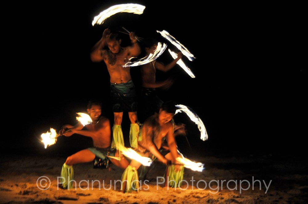Wedding Entertainment and Additional Services in Thailand - fire show