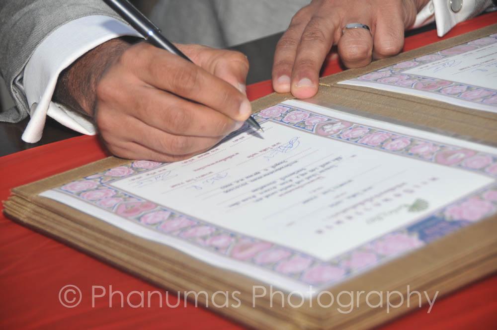 Marriage Registration Certificate - Thailand