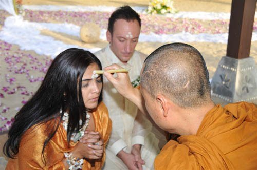 Thai Buddhist Wedding Blessing