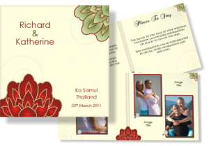 Email Wedding Invitation - Design Example